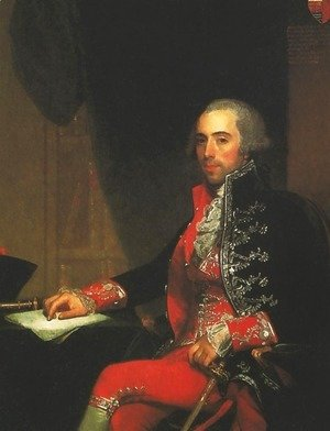 Portrait of Don Jose de Jaudenes y Nebot